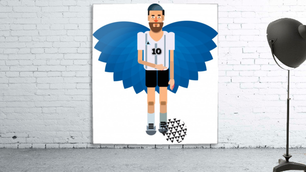 Lionel Messi illustration