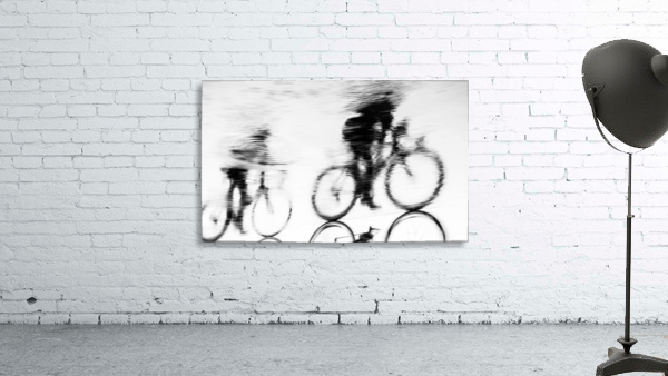 REFLECTED CYCLISTS