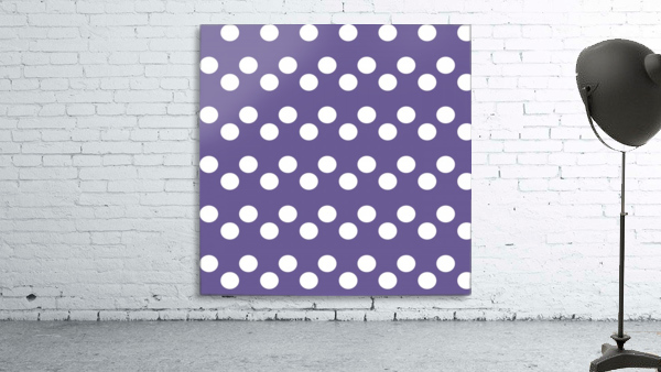 Ultra Violet Polka Dots