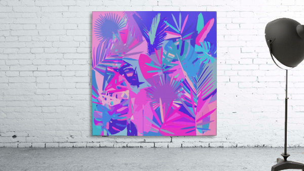 Tropical Leaves Abstract