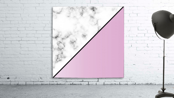 ABSTRACT MODERN PINKY MARBLE