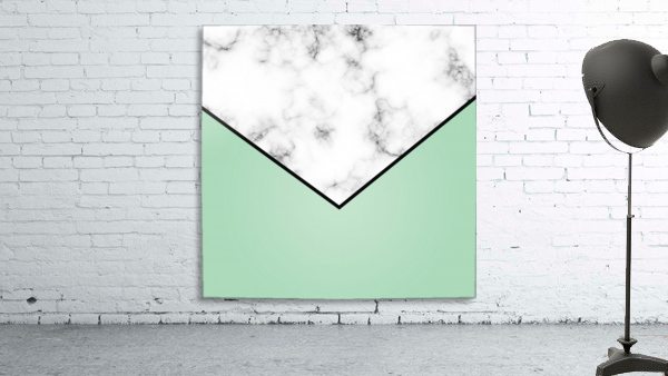 ABSTRACT GREEN PASTEL MODERN MARBLE