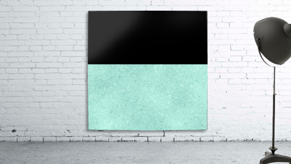 ABSTRACT TURQUOISE GLITTER