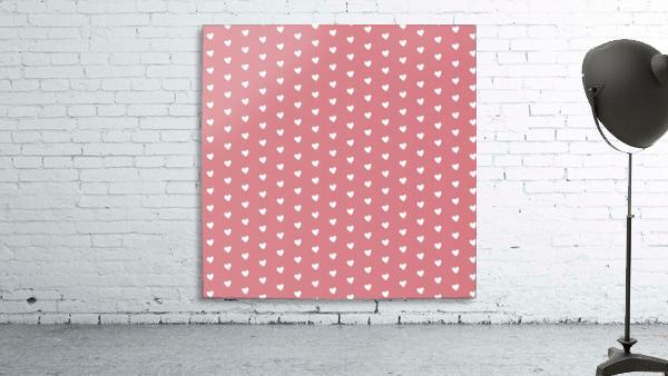 Light Red Heart Shape Pattern