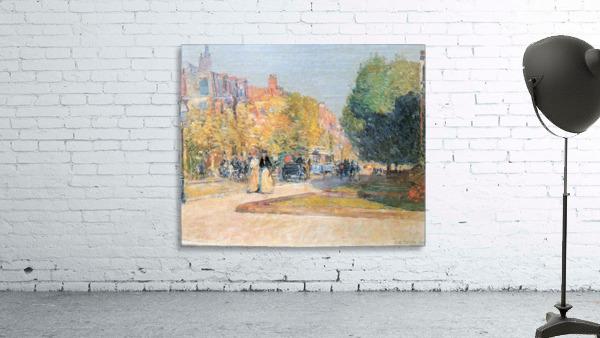 Malborough Street, Boston by Hassam