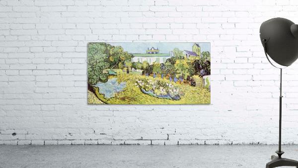The garden of the Daubignys by Van Gogh
