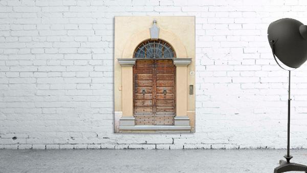 Old Wooden Door Tavernelle
