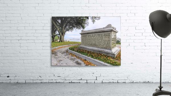 Pilgrim sarcophagus on Coles Hill