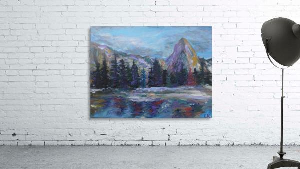Lone Eagle Peak reflected in Mirror Lake Indian Peaks Wilderness