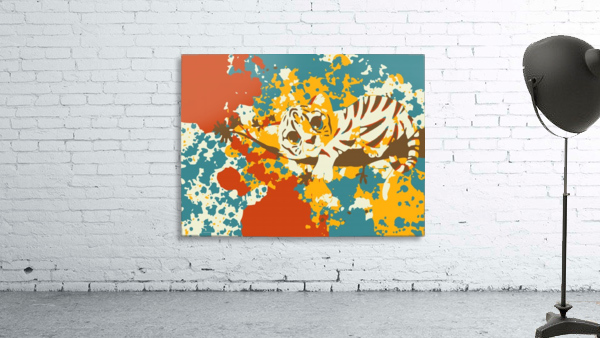 Little Tiger Abstract