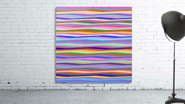 Wavy Stripes Abstract