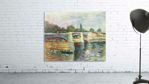 The Seine with the Pont de la Grande Jatte by Van Gogh