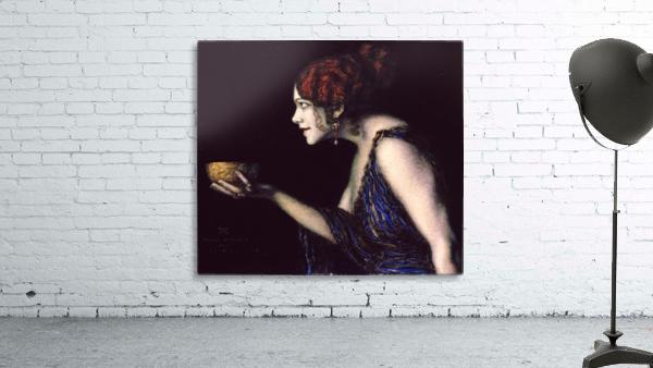Tilla Durieux as Circe by Franz von Stuck
