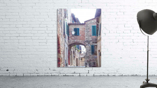 Alleyway Cetona Tuscany