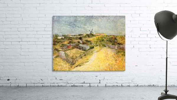 Vegetable Gardens in Montmartre by Van Gogh