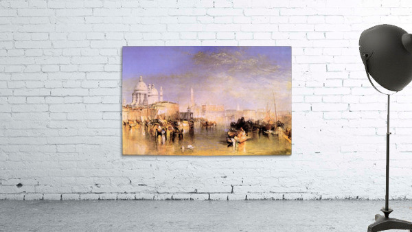 Venice from the canal by Joseph Mallord Turner