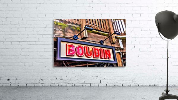 Boudin Bakery Sign