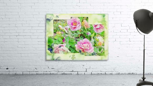 Soft Rose Fragments