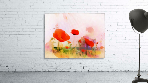 Poppies In Impression