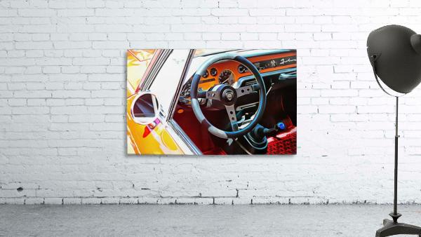 Lancia Fulvia Through The Window