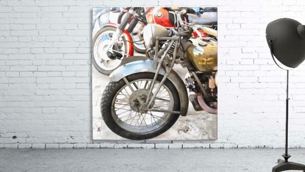 Moto Guzzi and BMW Front Wheels