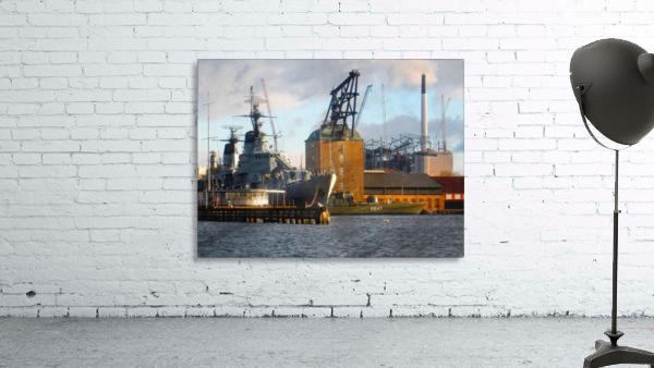 Ships at Holmen