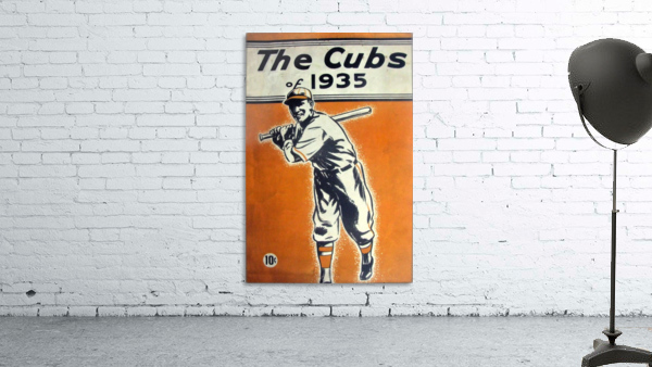 1935 Chicago Cubs Program Cover