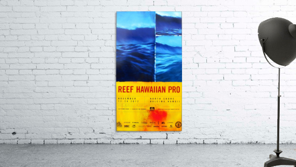 2012 REEF HAWAIIAN PRO Surfing Competition Print