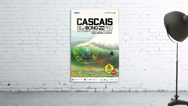 2013 CASCAIS BILLABONG PRO Surfing Competition Print