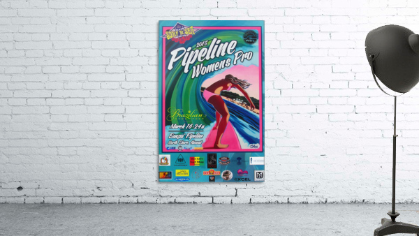 2015 PIPELINE WOMENS PRO Surfing Competition Print