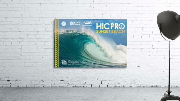 2016 VANS HIC PRO SUNSET BEACH Competition Print