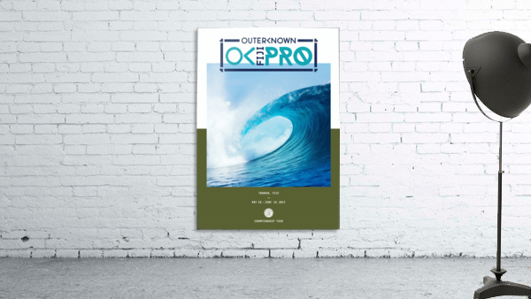 2017 OUTERKNOWN FIJI PRO Surf Competition Print