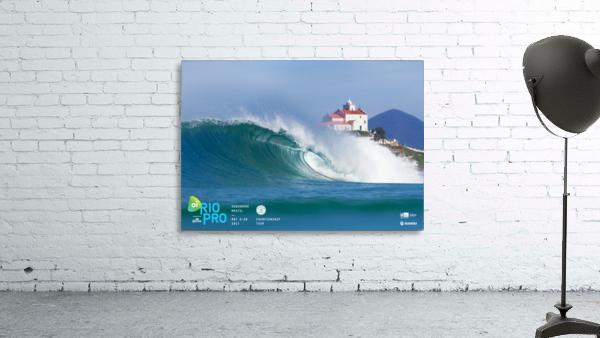 2017 RIO PRO Surf Competition Print