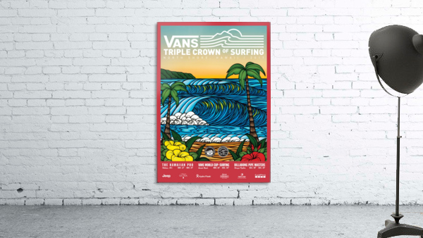 2017 VANS TRIPLE CROWN OF SURFING Competition Print