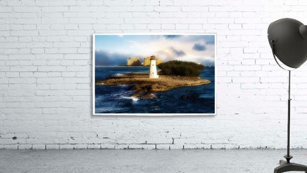 Bahamas Lighthouse with Resort Soft