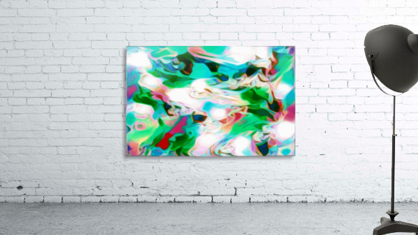 Waterfall - multicolor abstract swirls