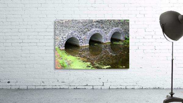 Stone Bridge and Reflection 4 Dow Gardens 3 062618