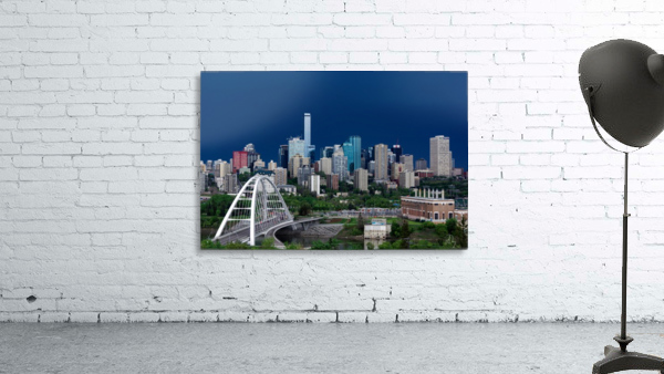 Edmonton Skyline & Thunderstorm...
