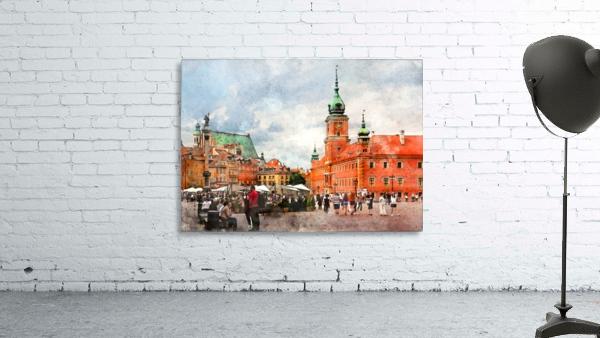 Warsaw city art