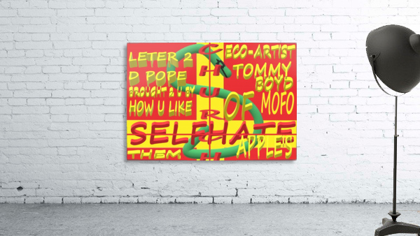 CHURCH OF SELFHATE-LETTER 2 D POPE-ECO-ARCHITECT TOMMY MIGUEL BOYD