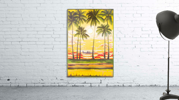 HAWAII TRAVEL POSTER