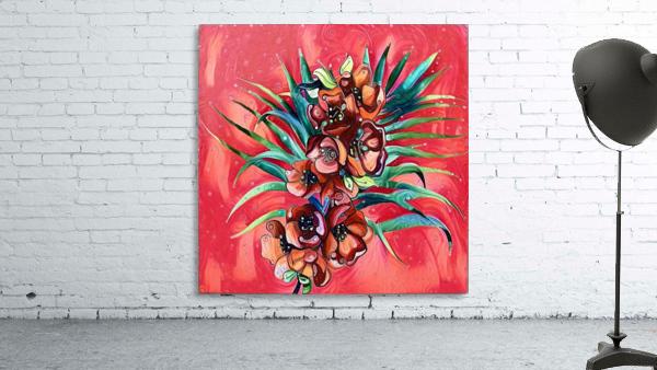 Vibrant Colors Tropical Floral