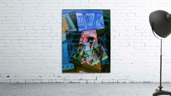 Juan Gris - Still Life before an Open Window