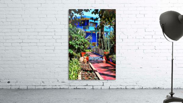 Approach To Cubist Villa Jardin Majorelle