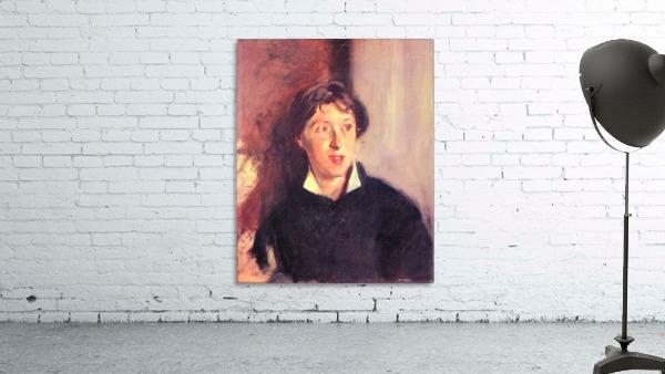 Portrait of Vernon Lee by John Singer Sargent