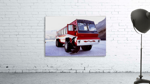 Snow Coach To The Columbian Ice Fields - Canada