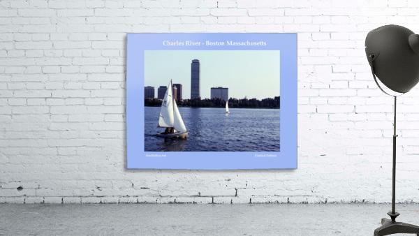 Sailing The Charles River - Boston Massachsuetts