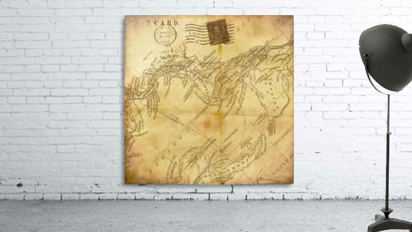 vintage map background paper