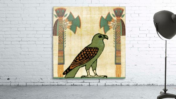 egyptian paper papyrus bird