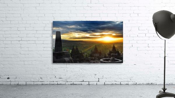 indonesia java landscape borobudur